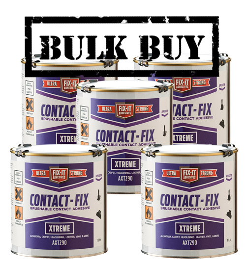 Contact Fix AXT290 Xtreme Contact Adhesive 1L x 5