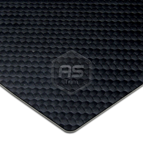 Carbon Fibre Effect Black Vinyl Per M 1.37m Wide