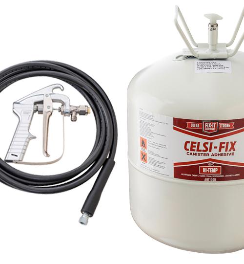 Celsifix Hi Temp Aht1000 Spray Adhesive Cansiter Gun