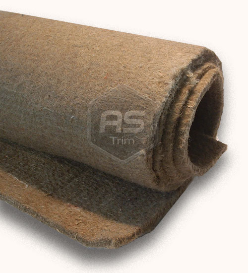 Jute Sound Proofing Felt - Anti Scuff Full Roll 12.5m x 1.37m