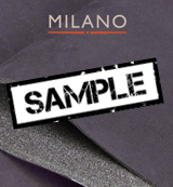 Milano Dark Grey 620 Foam Backed Suede - Sample
