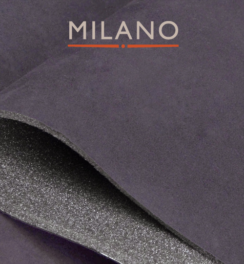 Milano Dark Grey 620 Foam Backed Suede Per M x 1.5m Wide