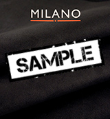 Milano Black 901 Suede - Sample