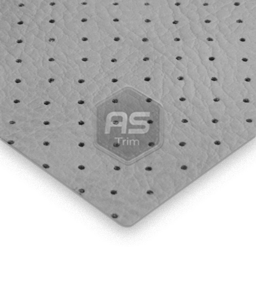 Grey Perforated Pvc As Trim Vehicle Textile Suppliers
