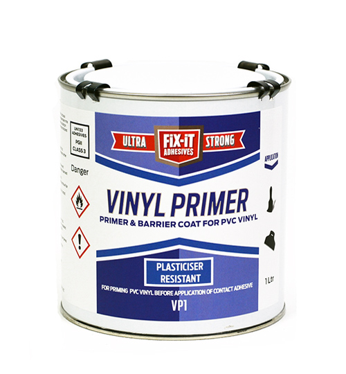 Vinyl Primer VP1 -1L Barrier Coat For PVC Vinyl