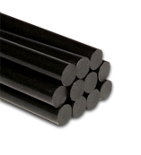 Black Hot Melt Glue Sticks