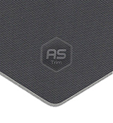 Dark Grey Textured Foam Backed