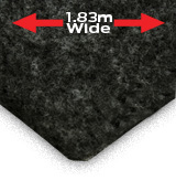 EW Trunkliner Charcoal 1.83m